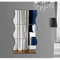 Mercurymall® Neuf Stickers muraux DIY 3D Digital moderne Décoratif Décoration pour Salon Chambre Maison