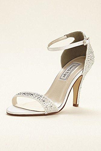 Sandalo Impreziosito Da Cristalli Tinti Con Ritocchi Di Stile Rena Mela