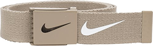 Nike Mens Tech Essential Belt, Tan, One Size (Belts Web Clothing Accessories)