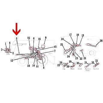 Amazon.com: H103344 New Rear Belt for John Deere Combine ... on caterpillar combine, kubota combine, deer in combine, claas 750 combine, case ih 1660 combine, parts of a combine, toy s690 combine, white 8700 combine, lexion 595r combine, corn catcher for combine, cat lexion 590r combine,
