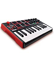 Akai Professional MPK Mini MKII | 25-Key Portable USB Midi Keyboard and Pad Controller