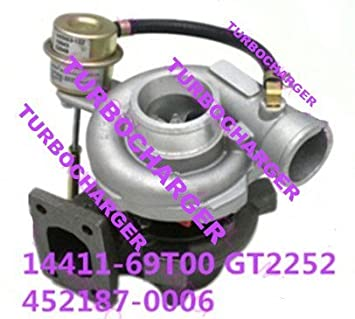 GOWE TURBO for GT2252 TURBO TURBOCHARGER FOR 452187-0006 14411-69T00