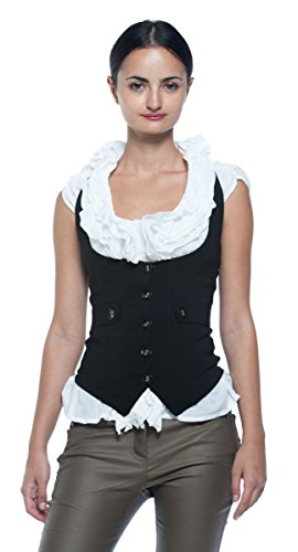 Steampunk Medieval Renaissance Underbust Waistcoat product image