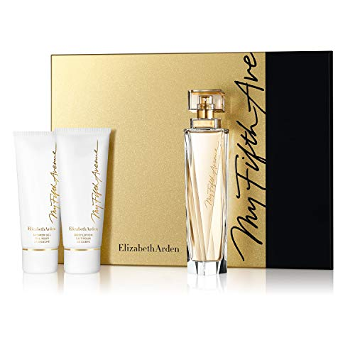 (Elizabeth Arden My Fifth Avenue Eau De Parfum Spray 3 Piece Gift Set, 3.3 Oz.)
