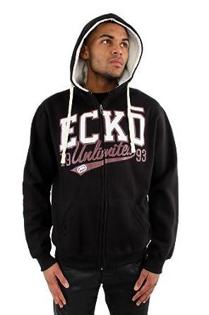 Ecko - Sudadera con Capucha - para Hombre Negro Negro S