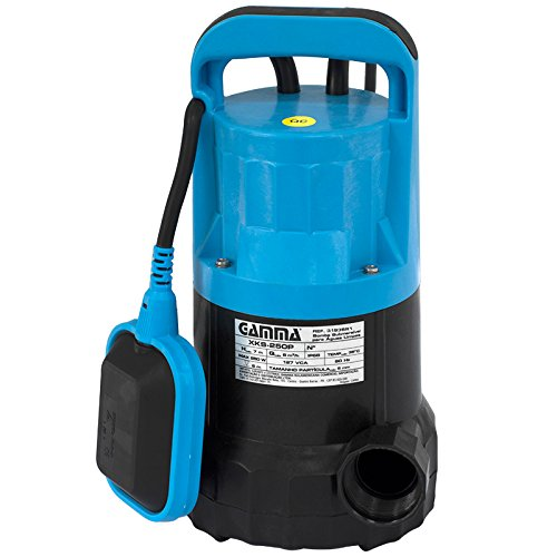 Bomba de Água Submersível, Gamma Ferramentas 3195BR2, Azul