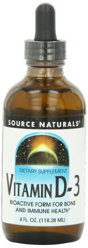 Source Naturals Vitamin D-3 Liquid, 4 Fluid Ounce, Health Care Stuffs