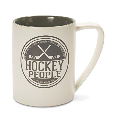 (Pavilion Gift Company 67007 Hockey People Ceramic Mug, 18 oz, Multicolored)