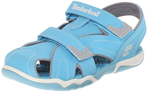 (Timberland Kids Unisex Adventure Seeker Closed Toe Sandal (Toddler/Little Kid/Big Kid) ,Lite Blue,6 M US Big Kid)