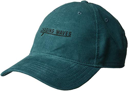 (O'Neill Women's Surf Chaser Corduroy Baseball Cap, Indian Teal, ONE)