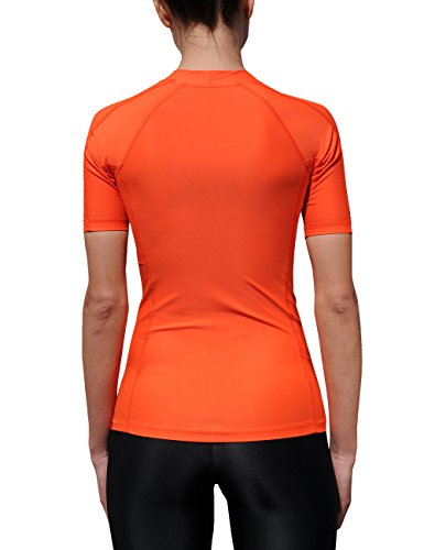 iQ-Company UV 300 Shirt Watersport - Camiseta con manga corta de natación para mujer siren