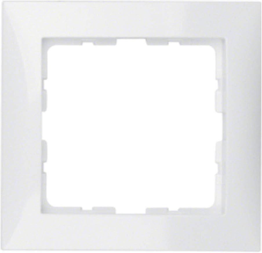 Hager S1 BERK Zentralst/ück 12038989 polarweiss gl/änzend