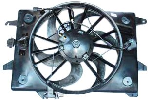 TYC 620680 Ford/Mercury Replacement Radiator/Condenser Cooling Fan Assembly