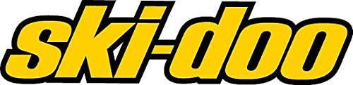 Ski-Doo Winter Powersports Racing Logo Logo'd Full Color Window Decal (Ski Doo Racing)