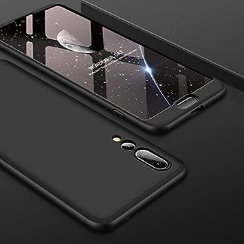 3 en 1 para Huawei P20 Pro protecci/ón Completa a Prueba de Golpes 360 Grados Ultra Delgada Delgada MRSTER Funda para Huawei P20 Pro Carcasa de PC r/ígida