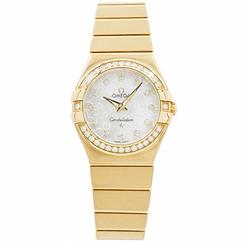 Omega Constellation quartz womens Watch 123.55.27.60.55.016 (Certified Pre-owned)