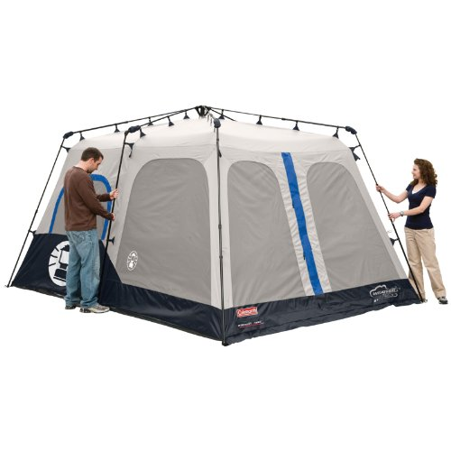 Coleman Instant 8 Person Tent Blue 14x10 Feet Desertcart