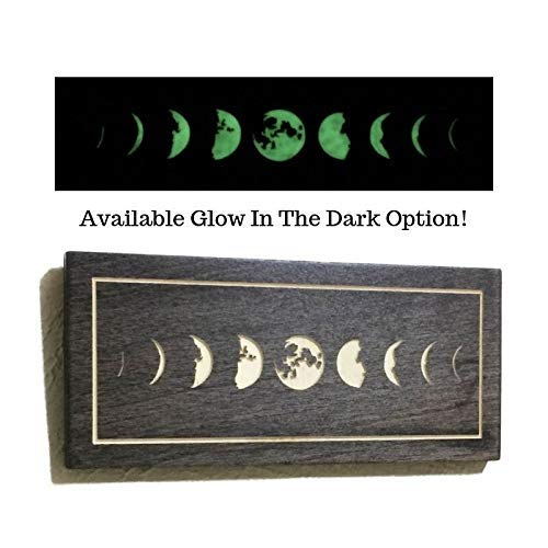 Halloween Cubicle Decoration (Phases Of The Moon Wall Art Halloween Decor Office Cubicle Moon Phase)