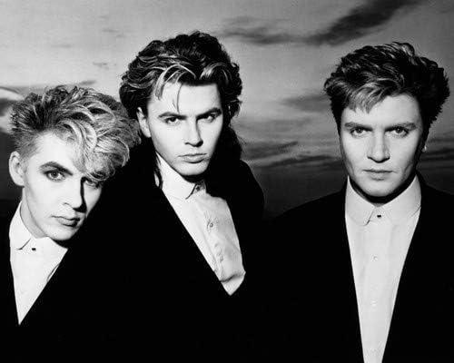 Duran Duran Simon Le Bon John Taylor Nick Rhodes Later 1980 S Pose 16x20 Poster At Amazon S Entertainment Collectibles Store