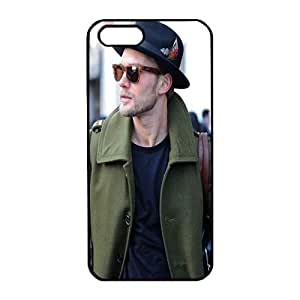 iPhone 5 black Case Unique design and high quality protective silicone with Peacoats and Hats