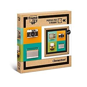 Clementoni 38506 Frame Me Up Vintage Electronics 250 Pezzi Made In Italy Puzzle Adulto Cornice