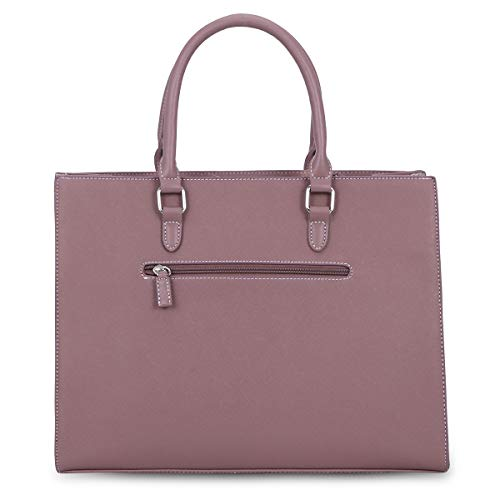 Top Handbag Handle Capacity Shopping Large Leather Work Women's Tote Travel Pink Briefcase Satchel School Bag Shoulder PU Grey Elegant Large Crossbody David Jones Bag Shopper Students vP6q7fw