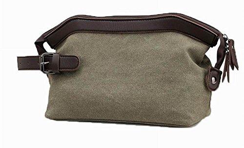 AalarDom Sacs d'embrayage Des Décontractée main Vert à Militaire Zippers Toile Femme sacs r7YwAr