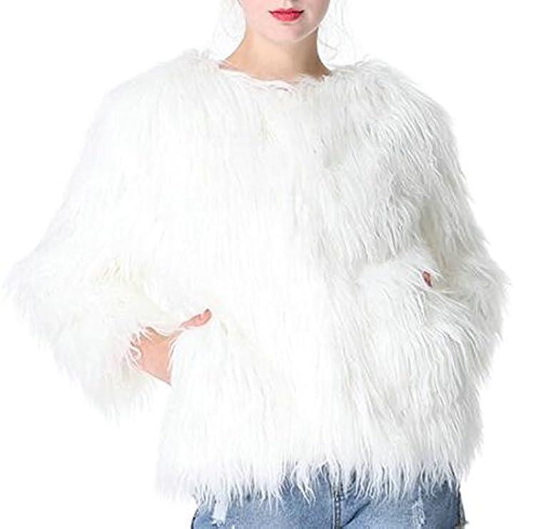 Giacca Apertura Per Cappotto Di Femminile Con In Cardigan Frontale Lana Volpe Solubile Generico 5ISww1qC