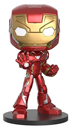 Funko Wobbler: Captain America Civil War Iron Man Toy Figure