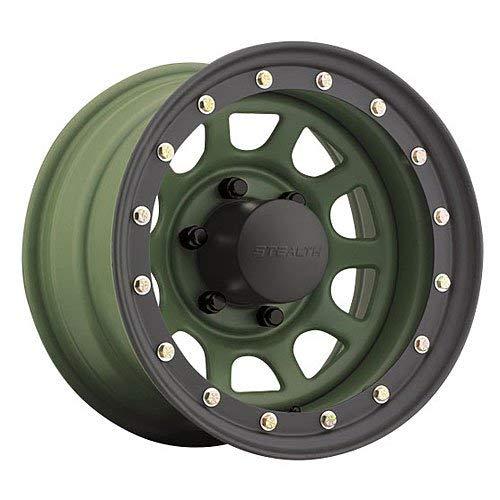 - U.S. WHEEL Daytona BL Stealth 844 Rim 17X9 6X5.5 Offset 0 Camo Green (Qty of 1)