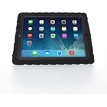 Gumdrop Cases Hideaway Stand for Apple iPad 3 Rugged Tablet Case Shock Absorbing Cover Black/Black A1403, A1416, A1430