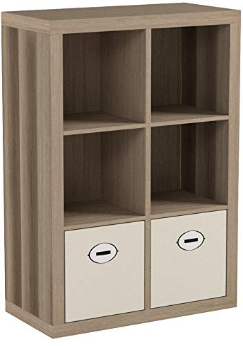 Better Homes and Gardens 6-Cube Organizer (Weathered)
