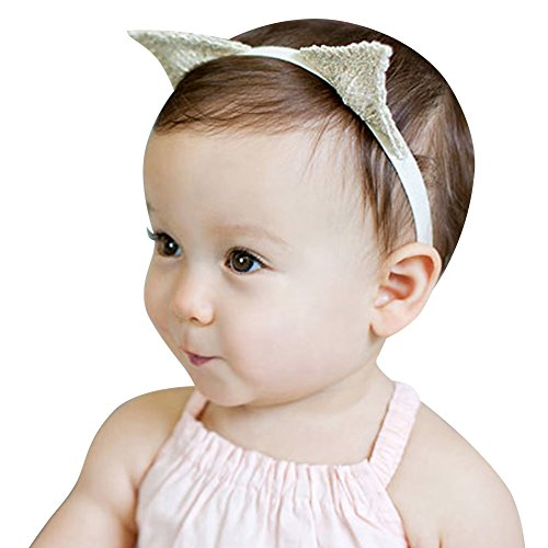 Lean In Christmas Headwear Children Cat Ear Hairpin Headwear Headband for Christmas Costume Party Christmas Gifts Decoration -