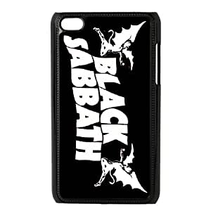 DIY Printed Black Sabbath hard plastic case skin cover For Ipod Touch 4 SNQ793541