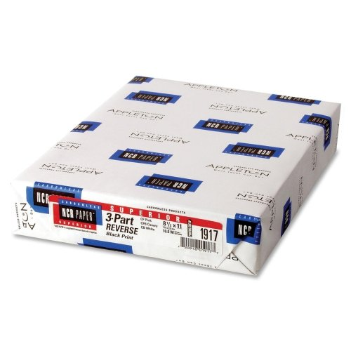 Wholesale CASE of 5 - NCR Paper CFB Superior Carbonless Sheets-Superior Paper, 92GE, 8-1/2''x11'', 500SH/PK, White