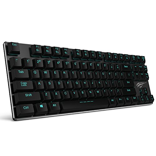 Mechanical Keyboard HAVIT Backlit Wired Gaming Keyboard Extr