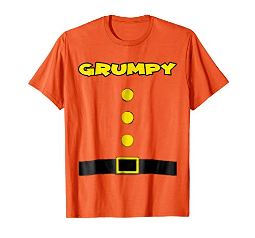 Grumpy Dwarf Halloween Costume Grumpy Dwarf T-shirt ()