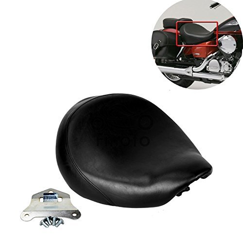 Black Front Cushion Seat For 1998-2003 Honda Shadow Spirit VT750 ACE VT750C VT750DC