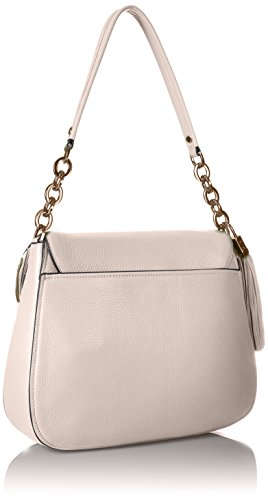 Pebble White Flap Lynn Bag Klein Shoulder Hobo Calvin Eqf4nwC