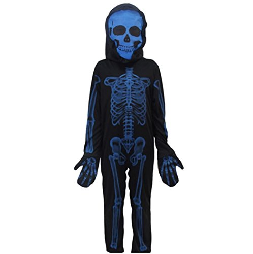 Party City Baby Boy Halloween Costumes (MCS-JP [Boy's Skeleton Costume] Halloween Infant Cosplay)