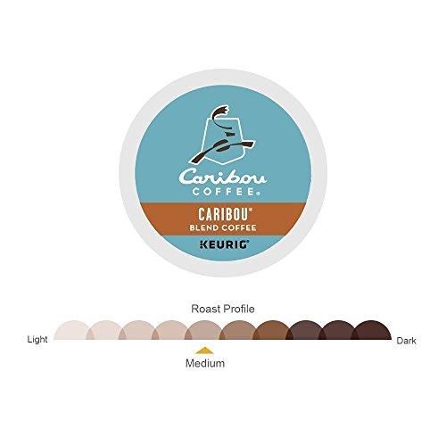 Caribou Coffee Single-Serve K-Cup Pod, Caribou Blend Medium Roast Coffee (Caribou Blend, 108 Count)