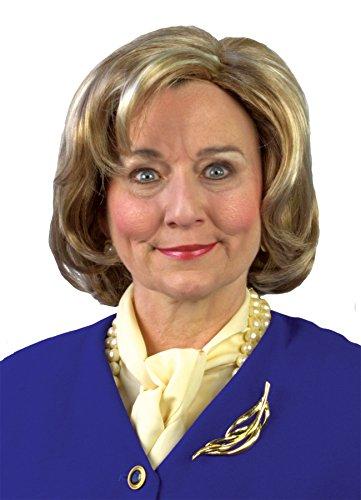 UHC Women's Political Democratic Hillary Clinton Wig Halloween Costume (Hillary Clinton Halloween Costume)