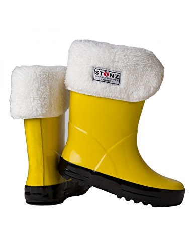 Stonz Linerz Liner Insert for Rain boots in Winter Snow Fall Rainboot liner Warm, 8T - Fashion Boot Liners