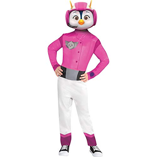 Amscan Top Wing Penny Halloween Costume for Toddler Girls, 3-4T, with Included -