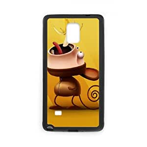 Monkey Samsung Galaxy Note 4 Cell Phone Case Black Xpuy
