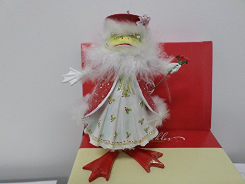 Department 56 Krinkles by Patience Brewster Mrs. Santa Frog Orn 39318-1