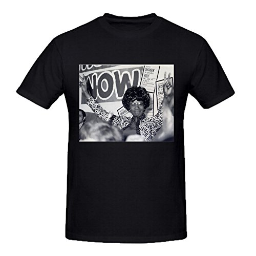 Chisholm Design - FGEXYZ Design Shirley Chisholm photo Mens T-shirt Cotton Round Collar Black