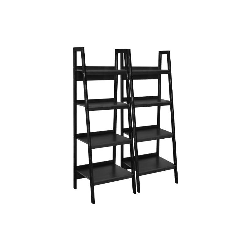 Ameriwood Home Lawrence 4 Shelf Ladder B