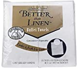 Better than Line White Guest Towels/Napkins 288 per Box
