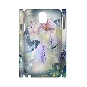 C-Y-F-CASE DIY Design Colorful Flower Butterfly Pattern Phone Case For samsung galaxy note 3 N9000